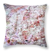 Seashell Of Pearl  Throw Pillow