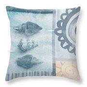 Seashells 2 Throw Pillow