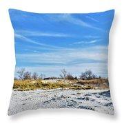 Seashore Escape Throw Pillow