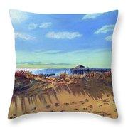 Seashore Shadows Throw Pillow