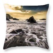 Seaside L/r Throw Pillow