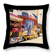 Seaside New Jersey Throw Pillow