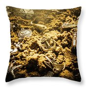 Seaside Of Creative Charms Throw Pillow
