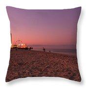 Seaside Park I - Jersey Shore Throw Pillow