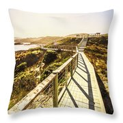 Seaside Perspective Throw Pillow