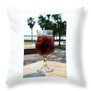 Seaside Sangria Throw Pillow