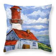 Seaside Sentinal Throw Pillow