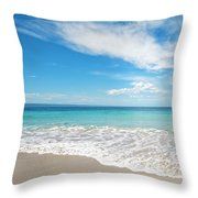 Seaside Serenity Throw Pillow