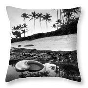 Seaside Treasure Throw Pillow