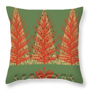 Season' Greetings 1 Throw Pillow