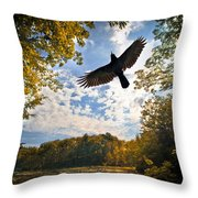 Season Of Change Throw Pillow