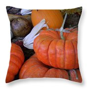 Seasonal Giants Throw Pillow