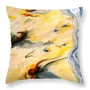 Seaswept Throw Pillow