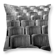Seat Backs Throw Pillow