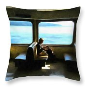 Seat In The Sun Throw Pillow