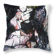 Seated Lux Throw Pillow