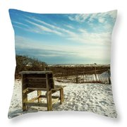 Seating Available Throw Pillow