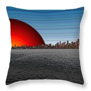 Seattle Dawning 2 Throw Pillow