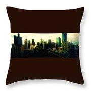 Seattle - Downtown Throw Pillow