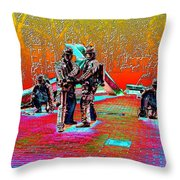 Seattle Fire Fighter Memorial Throw Pillow