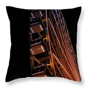 Seattle Great Wheel Throw Pillow