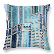 Seattle High Rise Throw Pillow
