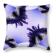 Seattle In The Wake Throw Pillow
