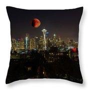 Seattle Throw Pillow