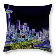 Seattle Quintessence Throw Pillow