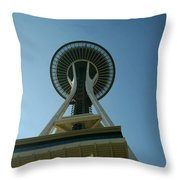 Seattle Space Needle Throw Pillow