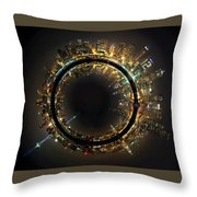 Seattle The 12th Man Inside Out Throw Pillow