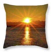 Seattle Twilight Throw Pillow