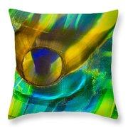 Seaweed Creature Throw Pillow by Omaste Witkowski