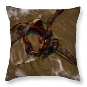 Seaweed Sword Throw Pillow