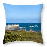 Sebastian Florida Throw Pillow