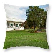 Sebastopol House Historic Site Throw Pillow