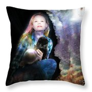 Secession Of Time Throw Pillow