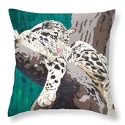 Secluded Grace Throw Pillow