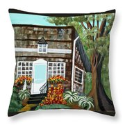Secluded Home Throw Pillow