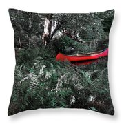 Secluded Spot Throw Pillow