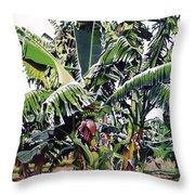Second Bananas Throw Pillow