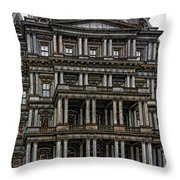 Second Empire Throw Pillow