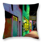 Second Hand Paradise Throw Pillow