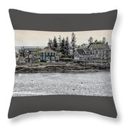 Second Story View Throw Pillow