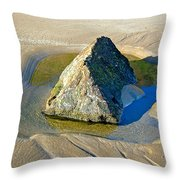 Second Study Of A Rock Throw Pillow