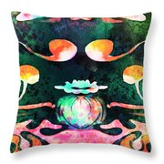 Secret Garden.. Throw Pillow