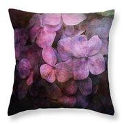 Secret Hydrangea 1538 Idp_2 Throw Pillow