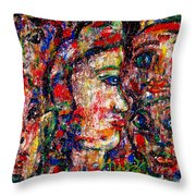 Secret Lovers Throw Pillow
