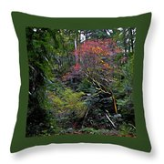 Secret Of The Forest Throw Pillow