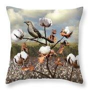 Secret Of The Mockingbird Throw Pillow